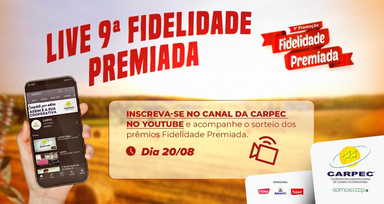 Live Fidelidade Premiada